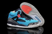Wholesale Cheap Air Jordan 3.5 Spizike Retro Shoes Blue/black-red