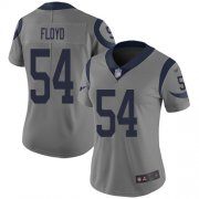 Wholesale Cheap Nike Rams #54 Leonard Floyd Gray Women's Stitched NFL Limited Inverted Legend Jersey