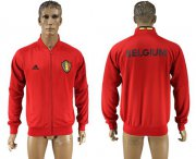 Wholesale Cheap Belgium Soccer Jackets Red
