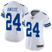 Wholesale Cheap Nike Cowboys #24 Chidobe Awuzie White Women's Stitched NFL Vapor Untouchable Limited Jersey