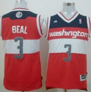 Wholesale Cheap Washington Wizards #3 Bradley Beal Revolution 30 Swingman Red Jersey