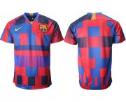Wholesale Cheap Barcelona Blank 20th Anniversary Stadium Soccer Club Jersey