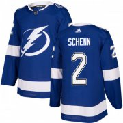 Cheap Adidas Lightning #2 Luke Schenn Blue Home Authentic Youth Stitched NHL Jersey