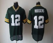 Wholesale Nike Packers #12 Aaron Rodgers Green Team Color Men's Stitched NFL Elite Jersey
