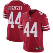 Wholesale Cheap Nike 49ers #44 Kyle Juszczyk Red Team Color Youth Stitched NFL Vapor Untouchable Limited Jersey