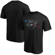 Wholesale Cheap MLB Majestic 2019 London Series Hometown Map T-Shirt - Black