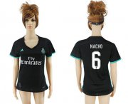 Wholesale Cheap Women's Real Madrid #6 Nacho Away Soccer Club Jersey