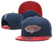 Wholesale Cheap New Orleans Pelicans Snapback Ajustable Cap Hat 1