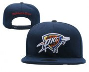 Wholesale Cheap Oklahoma City Thunder Snapback Ajustable Cap Hat 3