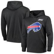 Wholesale Cheap Buffalo Bills Nike 100th Season Primary Logo Circuit Performance Pullover Hoodie Charcoal