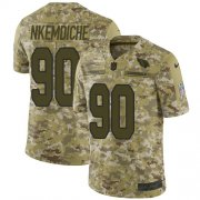 Wholesale Cheap Nike Cardinals #90 Robert Nkemdiche Camo Men's Stitched NFL Limited 2018 Salute to Service Jersey