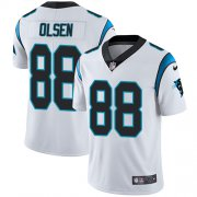 Wholesale Cheap Nike Panthers #88 Greg Olsen White Youth Stitched NFL Vapor Untouchable Limited Jersey