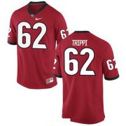 Wholesale Cheap Men's Georgia Bulldogs #62 Charley Trippi Red Stitched College Football 2016 Nike NCAA Jersey