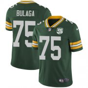 Wholesale Cheap Nike Packers #75 Bryan Bulaga Green Team Color Men's 100th Season Stitched NFL Vapor Untouchable Limited Jersey