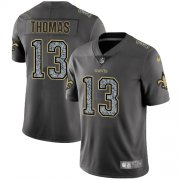Wholesale Cheap Nike Saints #13 Michael Thomas Gray Static Men's Stitched NFL Vapor Untouchable Limited Jersey
