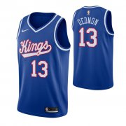 Wholesale Cheap Men's Sacramento Kings #13 Dewayne Dedmon Blue 2019-20 Hardwood Classics Jersey
