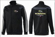 Wholesale Cheap NFL Baltimore Ravens Victory Jacket Black_2