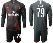 Wholesale Cheap AC Milan #79 Hessie Third Long Sleeves Soccer Club Jersey