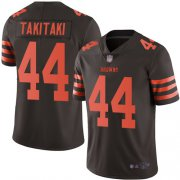 Wholesale Cheap Nike Browns #5 Drew Stanton Brown Team Color Men's Stitched NFL Limited Tank Top Jersey
