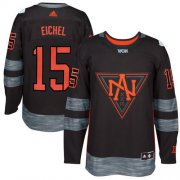 Wholesale Cheap Team North America #15 Jack Eichel Black 2016 World Cup Stitched NHL Jersey
