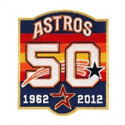 Wholesale Cheap Stitched Houston Astros 50th Anniversary Jersey Patch