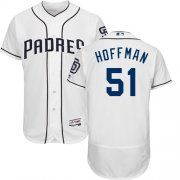 Wholesale Cheap Padres #51 Trevor Hoffman White Flexbase Authentic Collection Stitched MLB Jersey