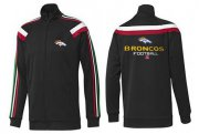 Wholesale NFL Denver Broncos Victory Jacket Black_3