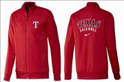 Wholesale Cheap MLB Texas Rangers Zip Jacket Red