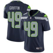 Wholesale Cheap Nike Seahawks #49 Shaquem Griffin Steel Blue Team Color Youth Stitched NFL Vapor Untouchable Limited Jersey