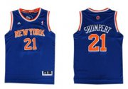 Wholesale Cheap New York Knicks #21 Iman Shumpert Revolution 30 Swingman 2013 Blue Jersey