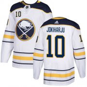 Wholesale Adidas Sabres #9 Jack Eichel White Road Authentic Youth Stitched NHL Jersey