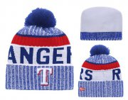 Wholesale Cheap MLB Texas Rangers Logo Stitched Knit Beanies 001