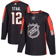 Wholesale Cheap Adidas Wild #12 Eric Staal Black 2018 All-Star Central Division Authentic Stitched Youth NHL Jersey