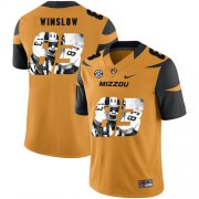 Wholesale Cheap Missouri Tigers 83 Kellen Winslow Gold Nike Fashion College Football Jersey