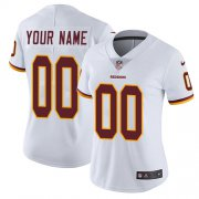 Wholesale Cheap Nike Washington Redskins Customized White Stitched Vapor Untouchable Limited Women's NFL Jersey