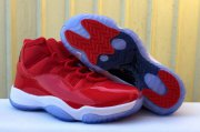 Wholesale Cheap Air Jordan 11 Gym Red Red/White
