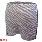 Wholesale Cheap Women's Nike NFL Kansas City Chiefs Embroidered Team Logo Zebra Stripes Shorts