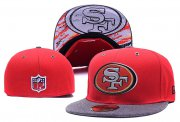 Wholesale Cheap San Francisco 49ers fitted hats05