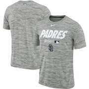 Wholesale Cheap San Diego Padres Nike Authentic Collection Velocity Team Issue Performance T-Shirt Gray