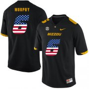 Wholesale Cheap Missouri Tigers 6 Marcus Murphy Black USA Flag Nike College Football Jersey