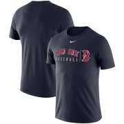 Wholesale Cheap Boston Red Sox Nike MLB Practice T-Shirt Navy