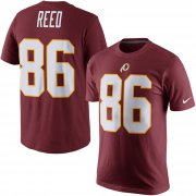 Wholesale Cheap Washington Redskins #86 Jordan Reed Nike Player Pride Name & Number T-Shirt Burgundy