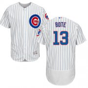 Wholesale Cheap Cubs #13 David Bote White Flexbase Authentic Collection Stitched MLB Jersey