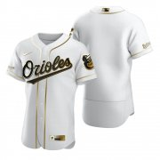 Wholesale Cheap Baltimore Orioles Blank White Nike Men's Authentic Golden Edition MLB Jersey