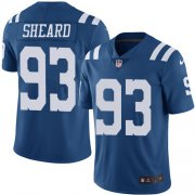 Wholesale Cheap Nike Colts #93 Jabaal Sheard Royal Blue Men's Stitched NFL Limited Rush Jersey