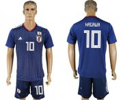 Wholesale Cheap Japan #10 Kagawa Home Soccer Country Jersey