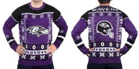 Wholesale Nike Ravens Men\'s Ugly Sweater