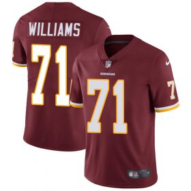 Wholesale Cheap Nike Redskins #71 Trent Williams Burgundy Red Team Color Youth Stitched NFL Vapor Untouchable Limited Jersey