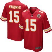 Wholesale Cheap Nike Chiefs #15 Patrick Mahomes Red Team Color Youth Stitched NFL Elite Jersey