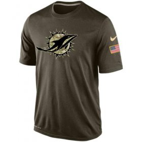 Wholesale Men\'s Miami Dolphins Salute To Service Nike Dri-FIT T-Shirt